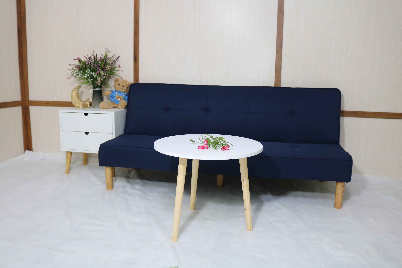 Sofa bed, sofa giường phòng khách gồm bàn tròn MH08
