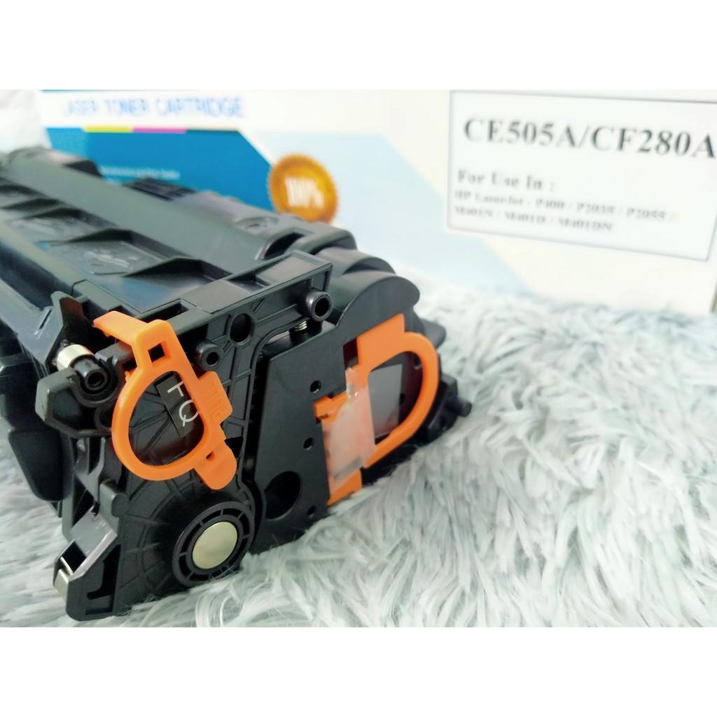 Hộp Mực in 80A Giá Rẻ Dành Cho Máy in Canon LBP 251DW, 252DW, 6300,. Máy in HP P400, P2035, P2055, M401N,.. CE505A/CF28A