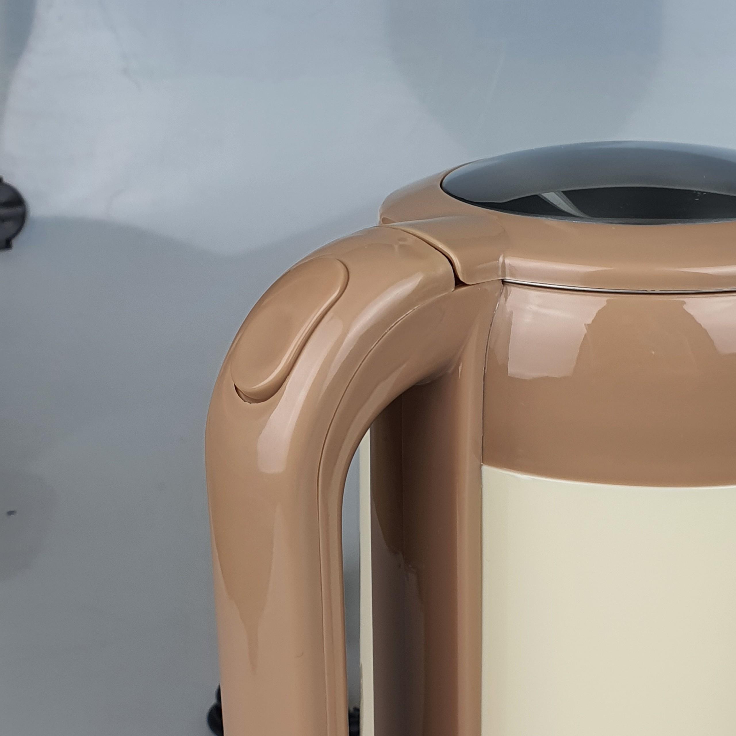 Ấm Siêu Tốc 2L Inox 304 Osako 2 Lớp Công Suất 1500W Đun Sôi Cực Nhanh Tiết Kiệm Điện-Màu Kem Xanh-Hàng Chính Hãng