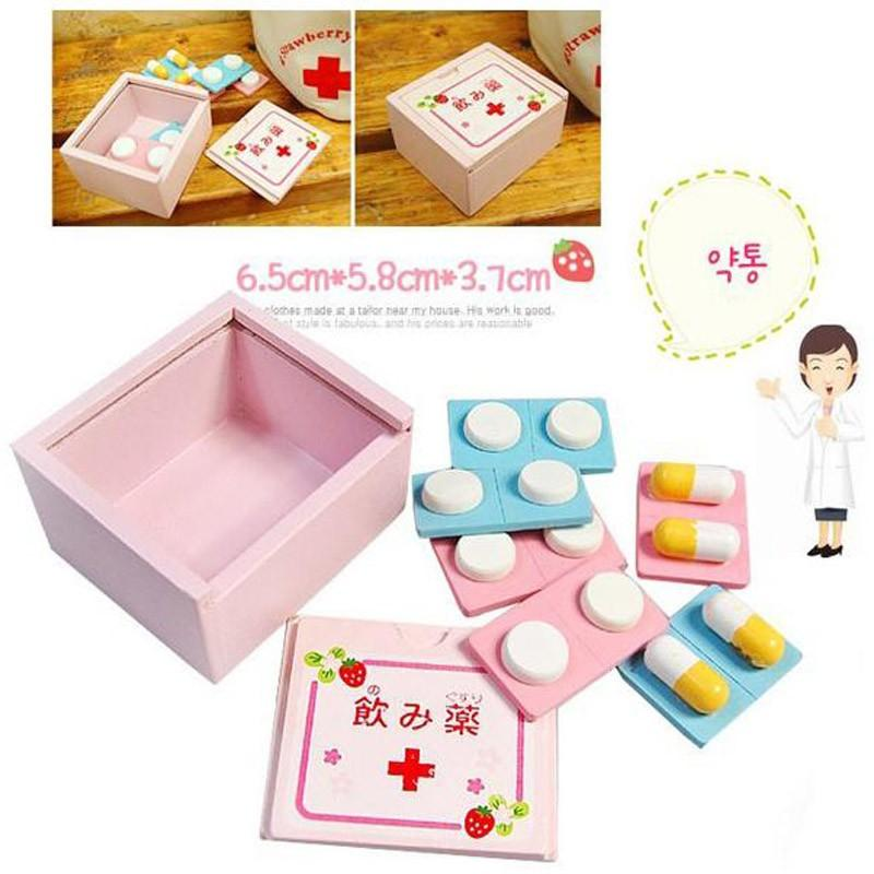Bộ đồ chơi bác sĩ hộp gỗ