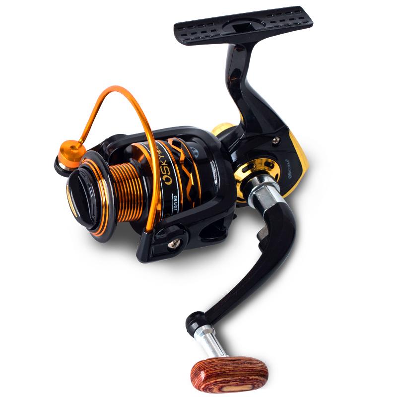 Bộ cần câu cá - Kèm máy kim loại GF - Máy 5000 - Tặng kèm nhiều phụ kiện BCC53