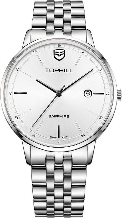 Đồng hồ nam chính hãng Thụy Sĩ TOPHILL TW065G.S1257