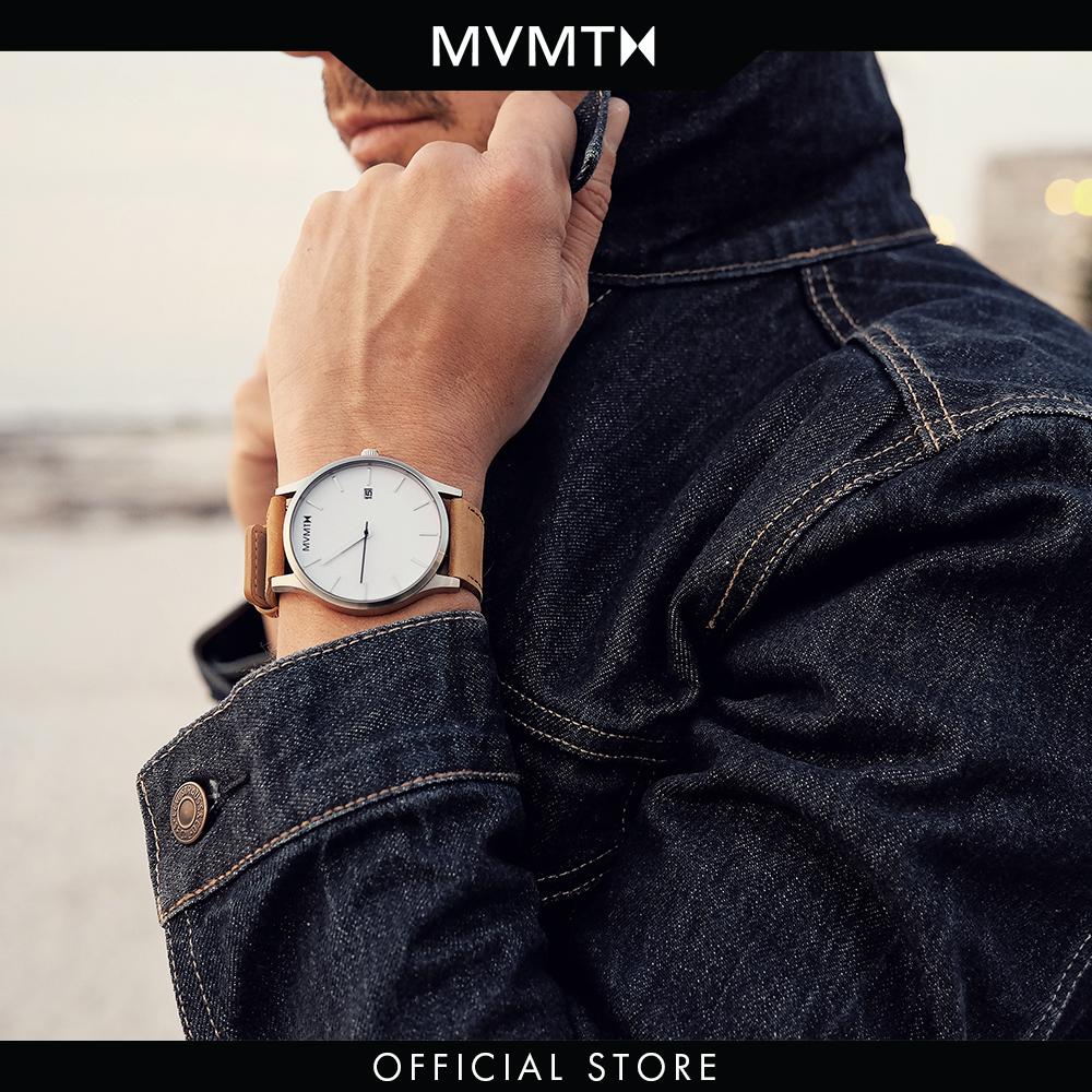 Đồng hồ Nam MVMT dây da 45mm - Classic D-L213.1L.331