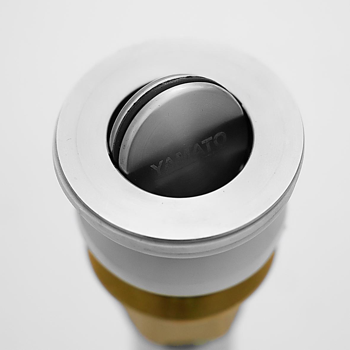 Bộ xi phông (xả lavabo) lật Inox 304 dùng cho lavabo sứ