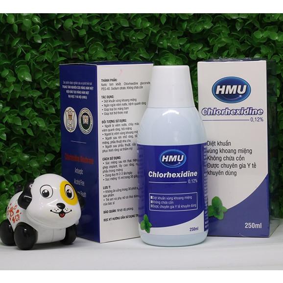 Nước súc miệng HMU Chlorhexidine