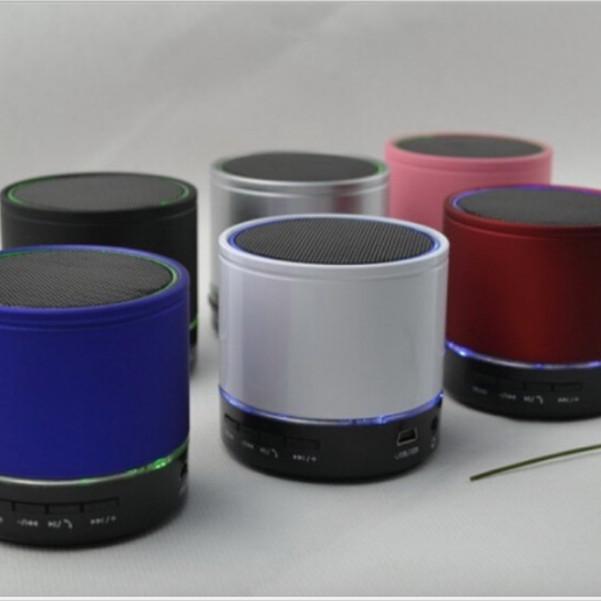 Loa Bluetooth Mini âm thanh cực hay, Đèn lép sáng 7 màu, Dung lượng pin cao -  NEW