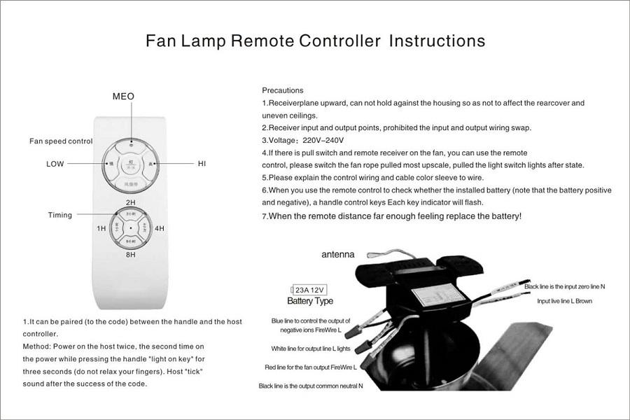 Bộ điều khiển quạt trần có đèn Suntech