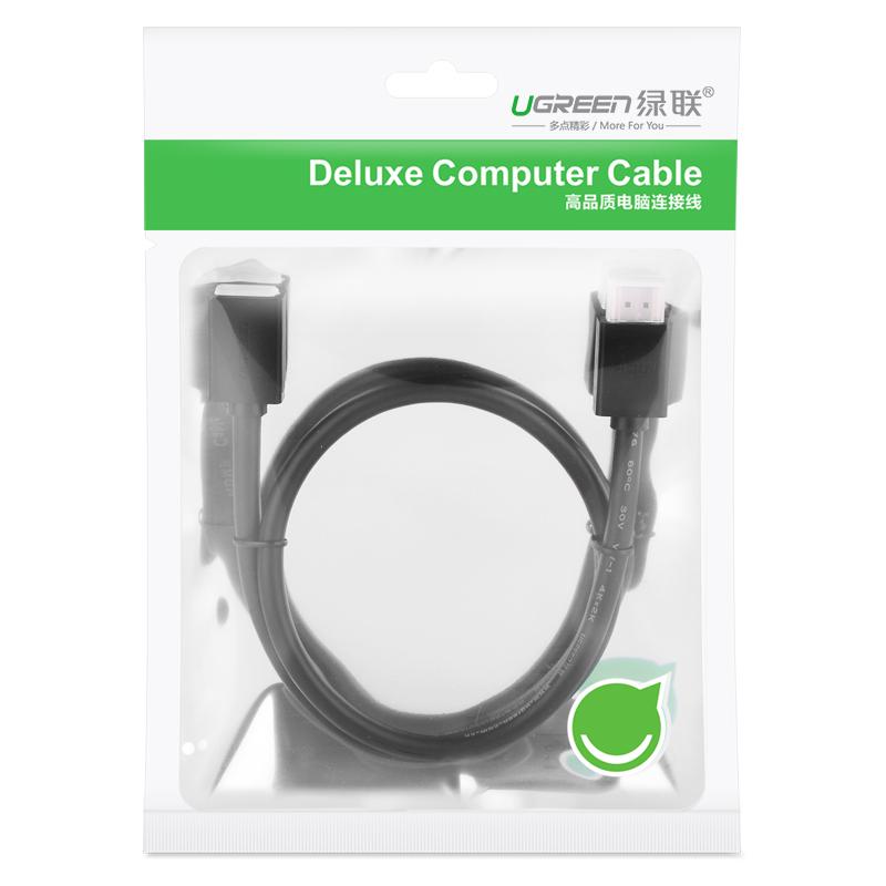 Dây nối dài HDMI 1.4 thuần đồng 19+1 Dài 1M UGREEN HD107 10141 - Hàng chính hãng