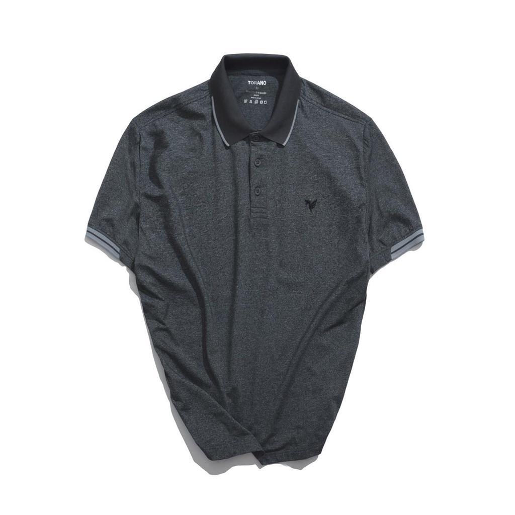 Áo polo nam cổ bẻ, áo thun nam polo tay ngắn melange thương hiệu TORANO TP024