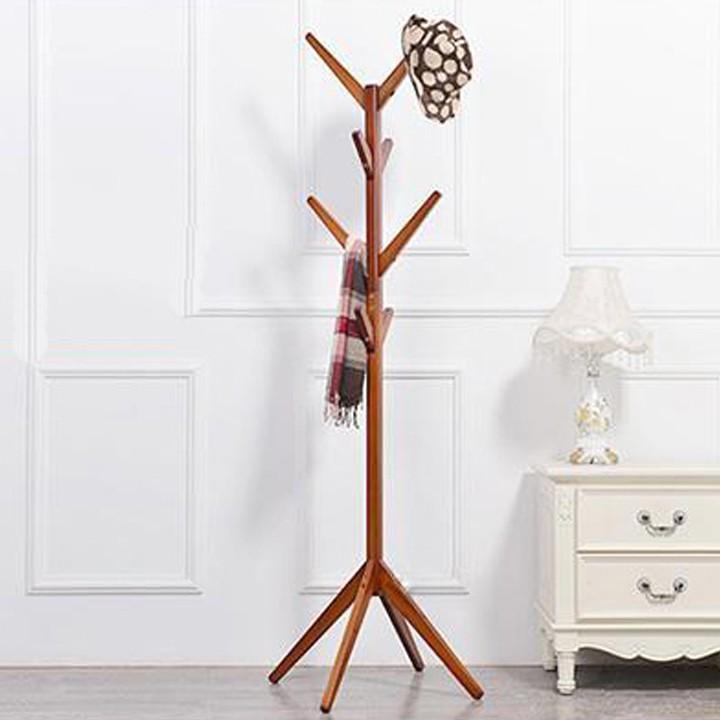 Cây treo quần áo CT03 màu gỗ
