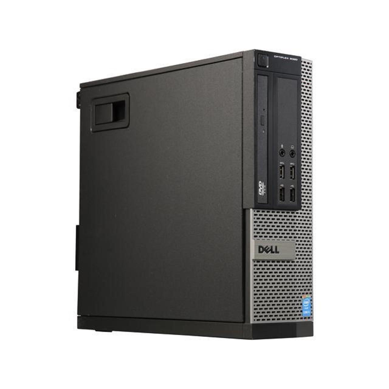 Máy tính văn phòng Dell 9020 SFF CORE i3 4130 - RAM 8GB - SSD 120GB - HDD 500GB - DÙNG CHO HỌC SINH - SINH VIÊN - VĂN PHÒNG- CẤU HÌNH MÁY CAO CHẠY NHANH MƯỢT MÀ - TẶNG USB THU WIFI VÀ BÀN DI CHUỘT - HÀNG NHẬP KHẨU