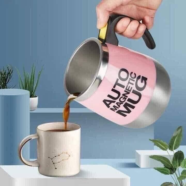 Cốc nước, cốc cafe  tự khuấy thông minh giao màu ngẫu nhiên