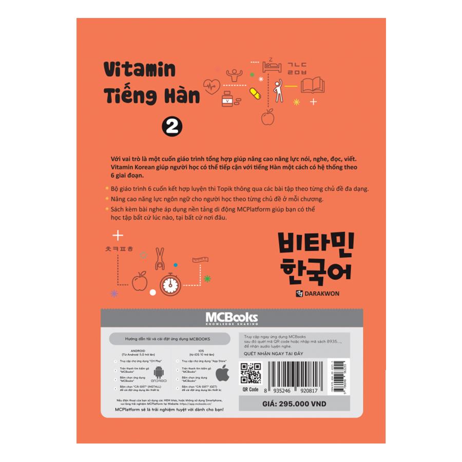 Vitamin Tiếng Hàn Tập 2