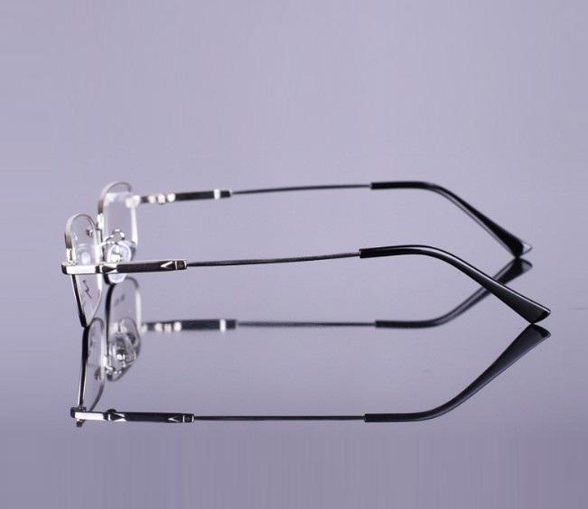 Gọng kính titanium thay mắt kiểu dáng thể thao siêu dẻo chống rỉ thế hệ mới