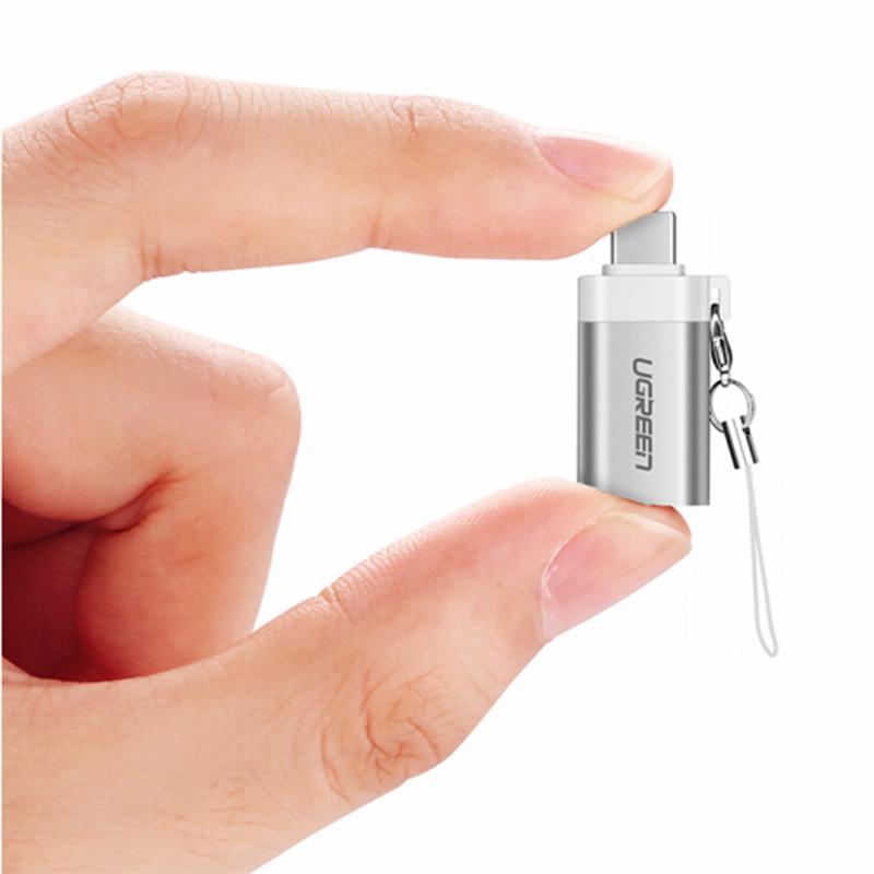 Đầu Chuyển USB Type - C OTG Ra USB 3.0 Âm Ugreen 50284 - Hàng Chính Hãng