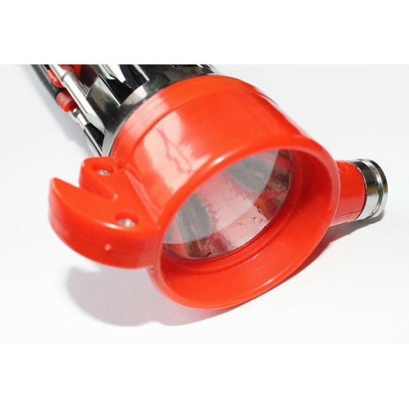 Búa Phá Kính ô tô thoát hiểm đa năng kèm đèn pin dao cắt và tua vít cao cấp