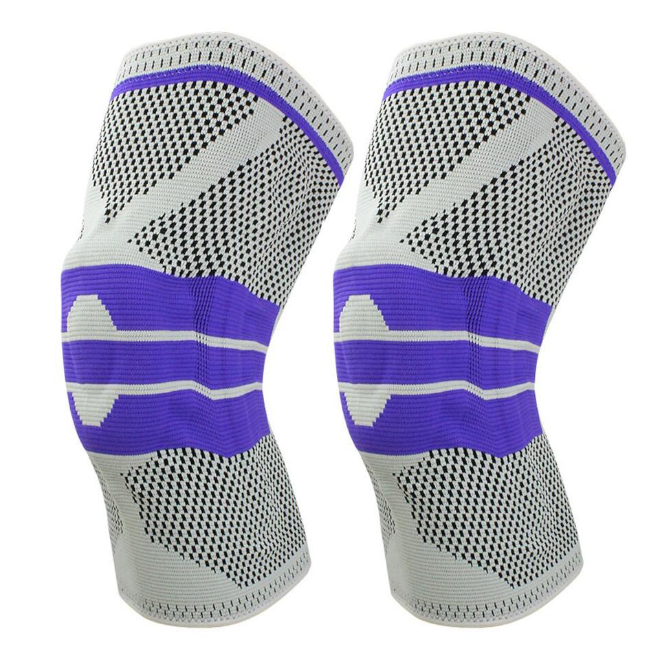 Bộ 2 Đai Bảo Vệ Đầu Gối Hỗ Trợ Khớp Gối Phục Hồi Dây Chằng Xương Khớp, Xương Bánh Chè Sport Knee Protector AOLIKES YE-7721 - Hàng Chính Hãng
