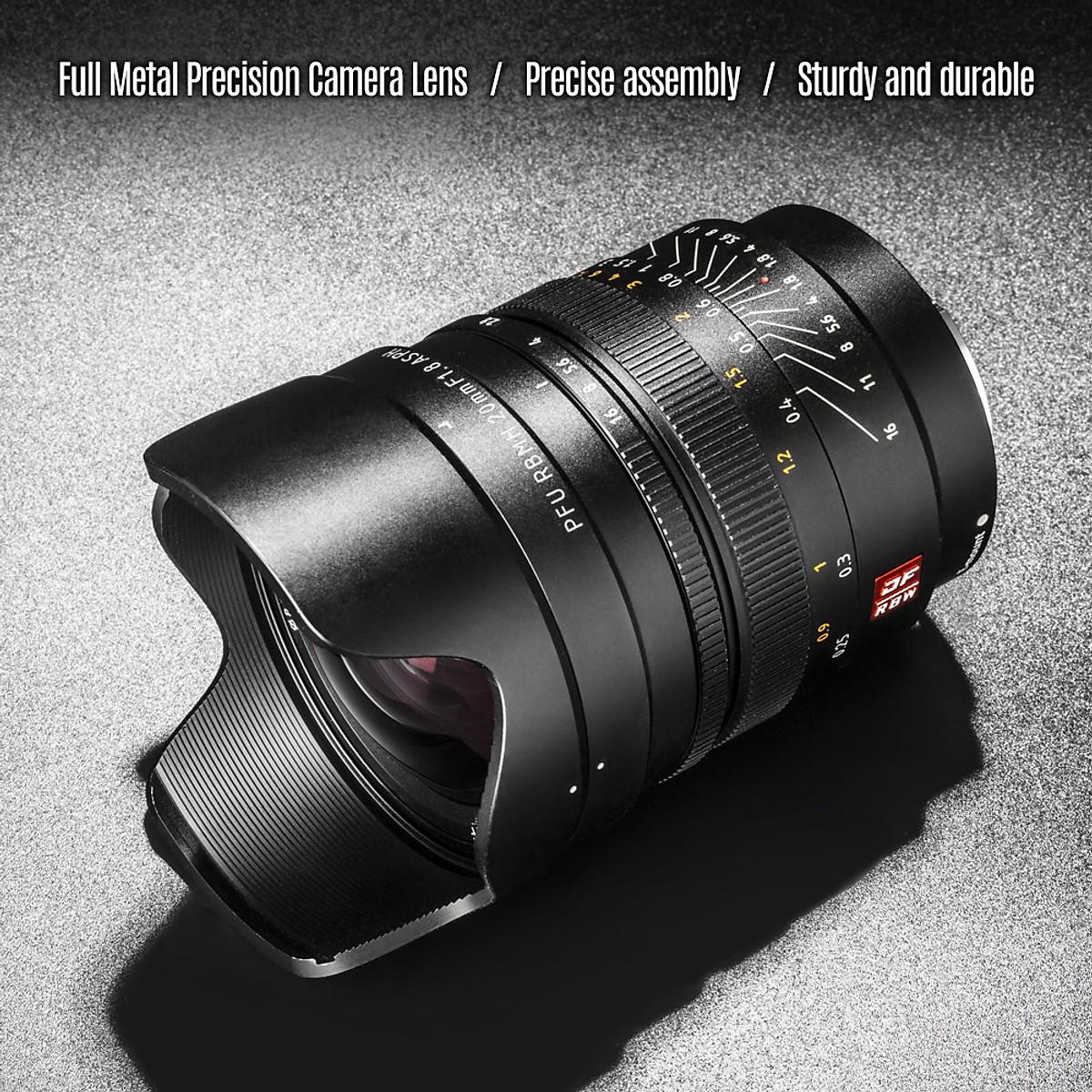 Ống kính Viltrox PFU RBMH 20mm F1.8  ASPH cho SONY Hàng Chính Hãng