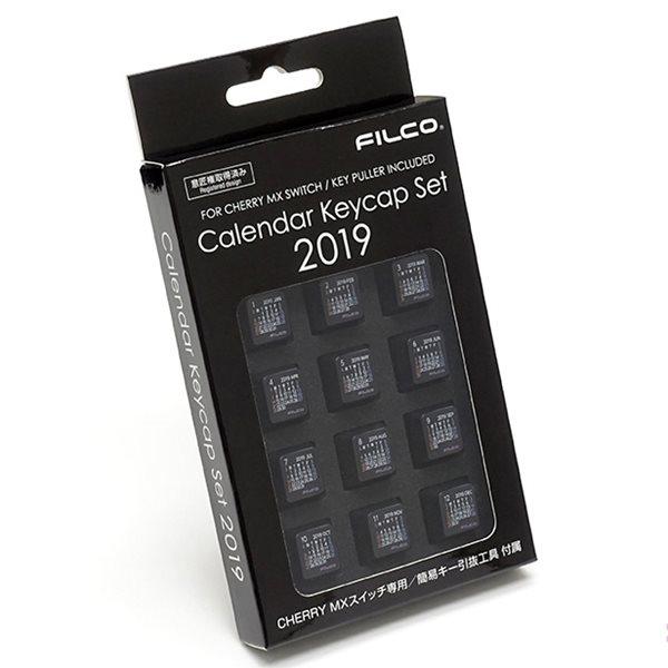 Keycap Filco lịch 2019 - Hàng chính hãng