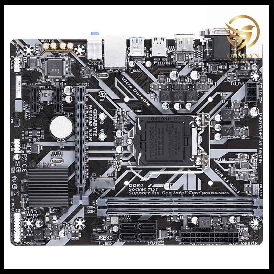 Main Máy Tính Bo Mạch Chủ Gigabyte H310M DS2 Mainboard Chính Hãng Cho Máy Tính PC hàng chính hãng