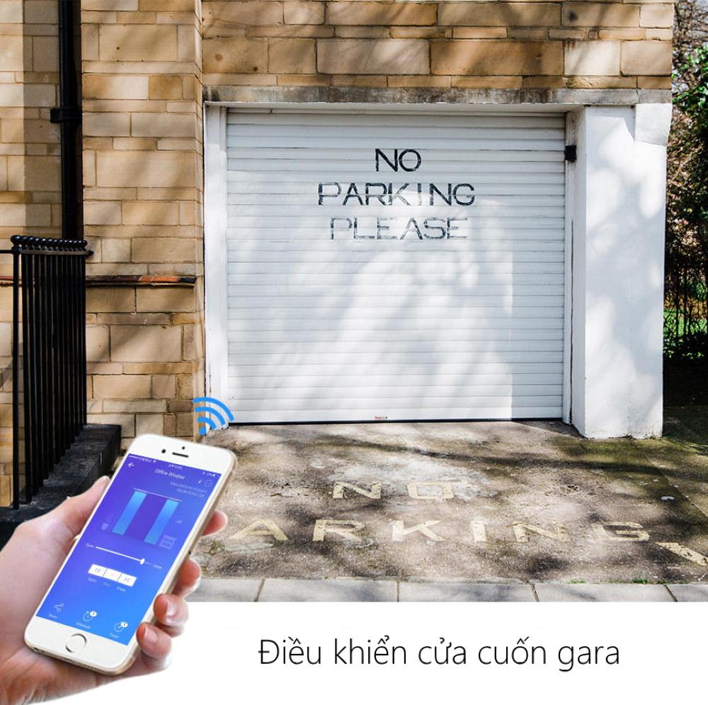 [BẢO HÀNH] Công tắc thông minh wifi điều khiển cửa cuốn từ xa Tuya phiên bản mới có tích hợp với remote zin