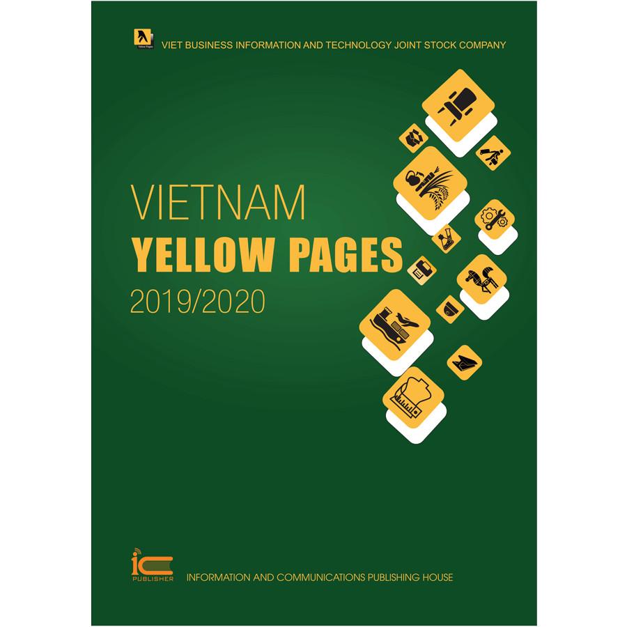 Sách Trang vàng quốc tế - Vietnam Yellow Pages 2019/2020