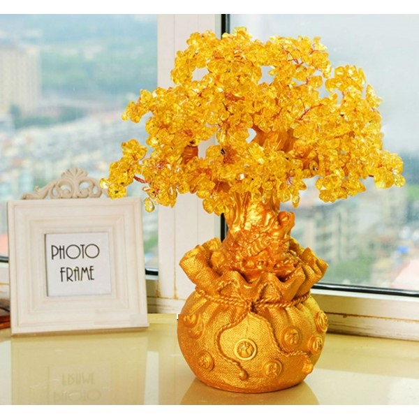 Cây Tài Lộc Vàng (8Cmx18Cm)