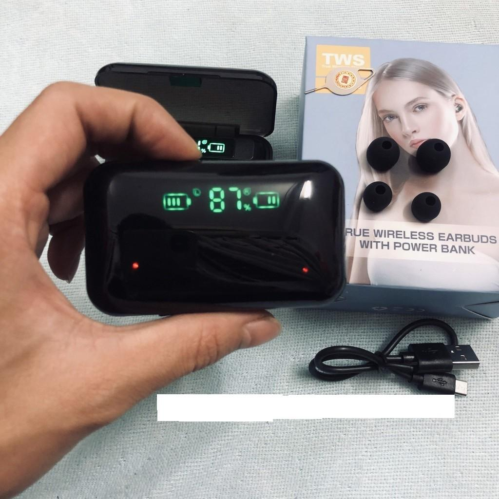 Tai Nghe Không Dây Nhét tai Bluetooth F9 PRO TWS Chuyên Gaming Dành cho Iphone và android