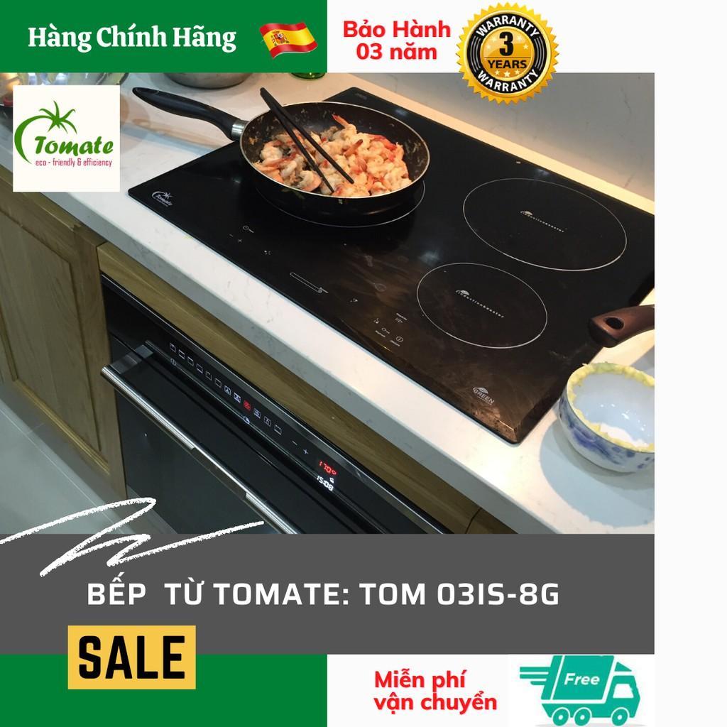 Bếp từ TOM 03IS-8G. Tomate Tây Ban Nha. Hàng Chính Hãng