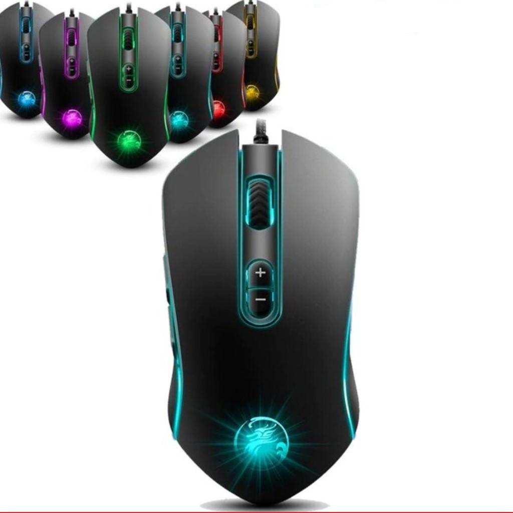 Chuột Chuyên Game APEDRA A6 Kết Nối USB Có Đèn LED Chuyển  Màu - Giao Hàng Chính Hãng