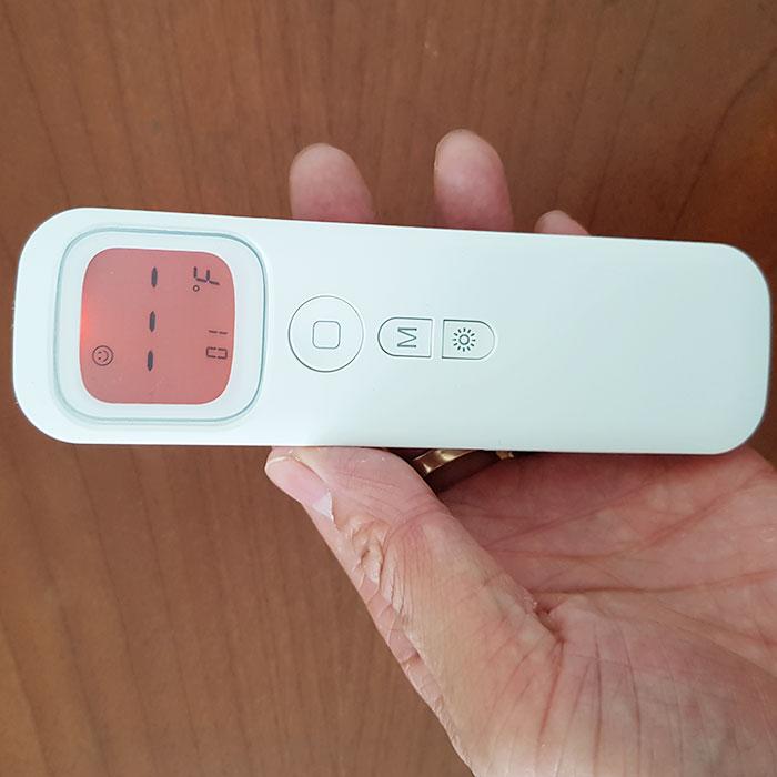 Nhiệt kế điện tử đo trán không cần chạm 2in1 - Đo độ C và độ F