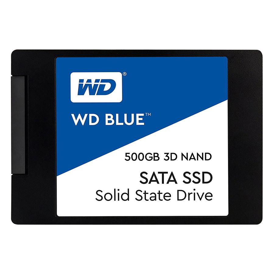 Ổ Cứng SSD WD Blue 3D NAND 500GB WD WDS500G2B0A (2.5 inch) - Hàng Chính Hãng