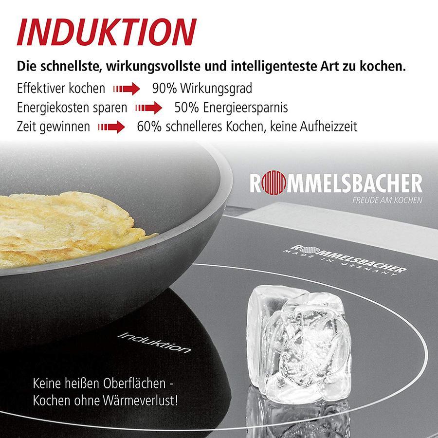 Bếp từ âm đôi Rommelsbacher EBC 3430/ IN  CHLB Đức - Hàng nhập khẩu
