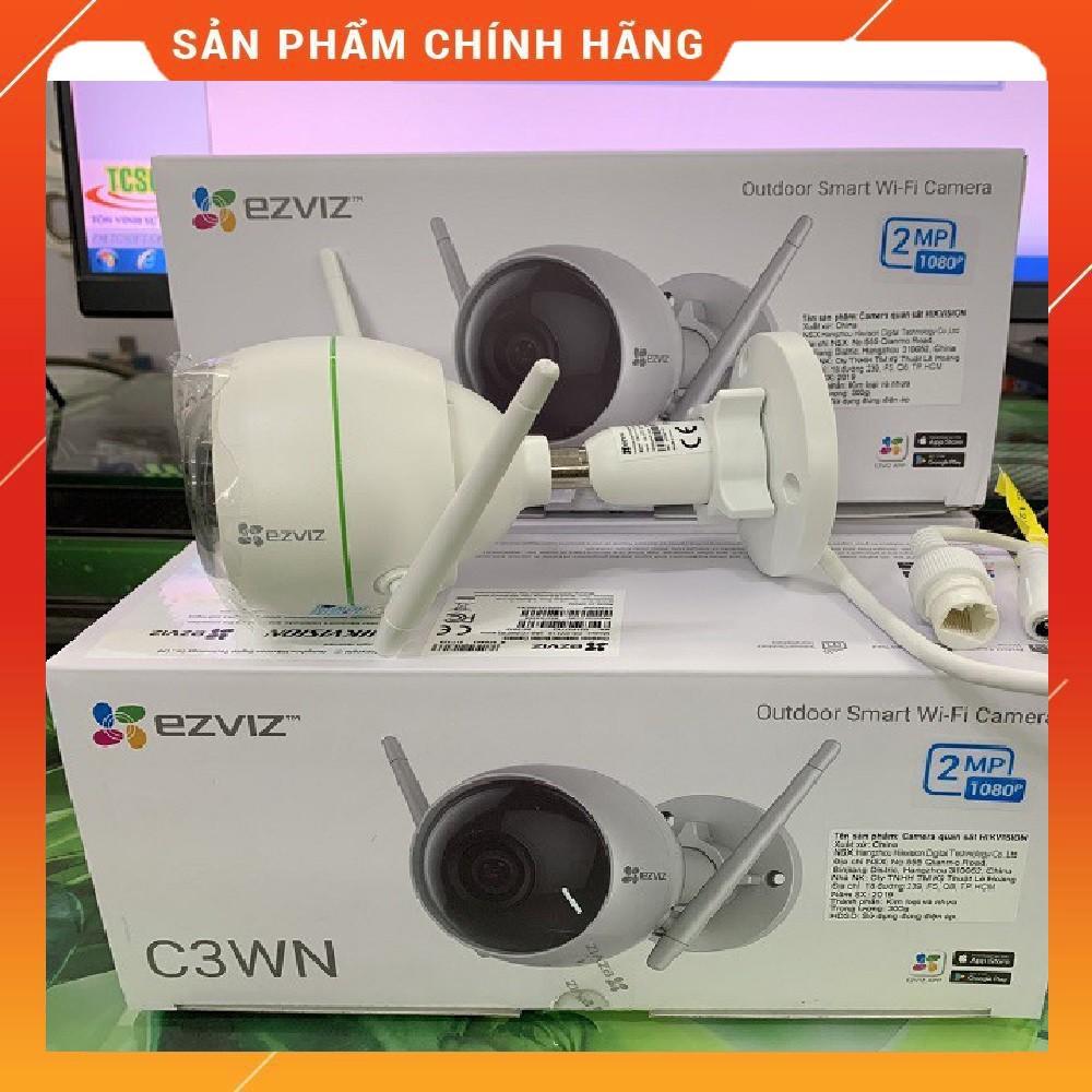 Camera Wifi EZVIZ C3WN 1080P (CS-CV310-A0-1C2WFR) - TẶNG KÈM THẺ NHỚ 32GB - HÀNG CHÍNH HÃNG 100%
