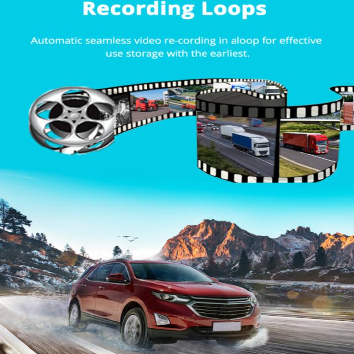 Camera hành trình Phisung P03 đặt taplo ô tô 4G, wifi, 8 inch tích hợp cam lùi Mã P03 - Hàng nhập khẩu