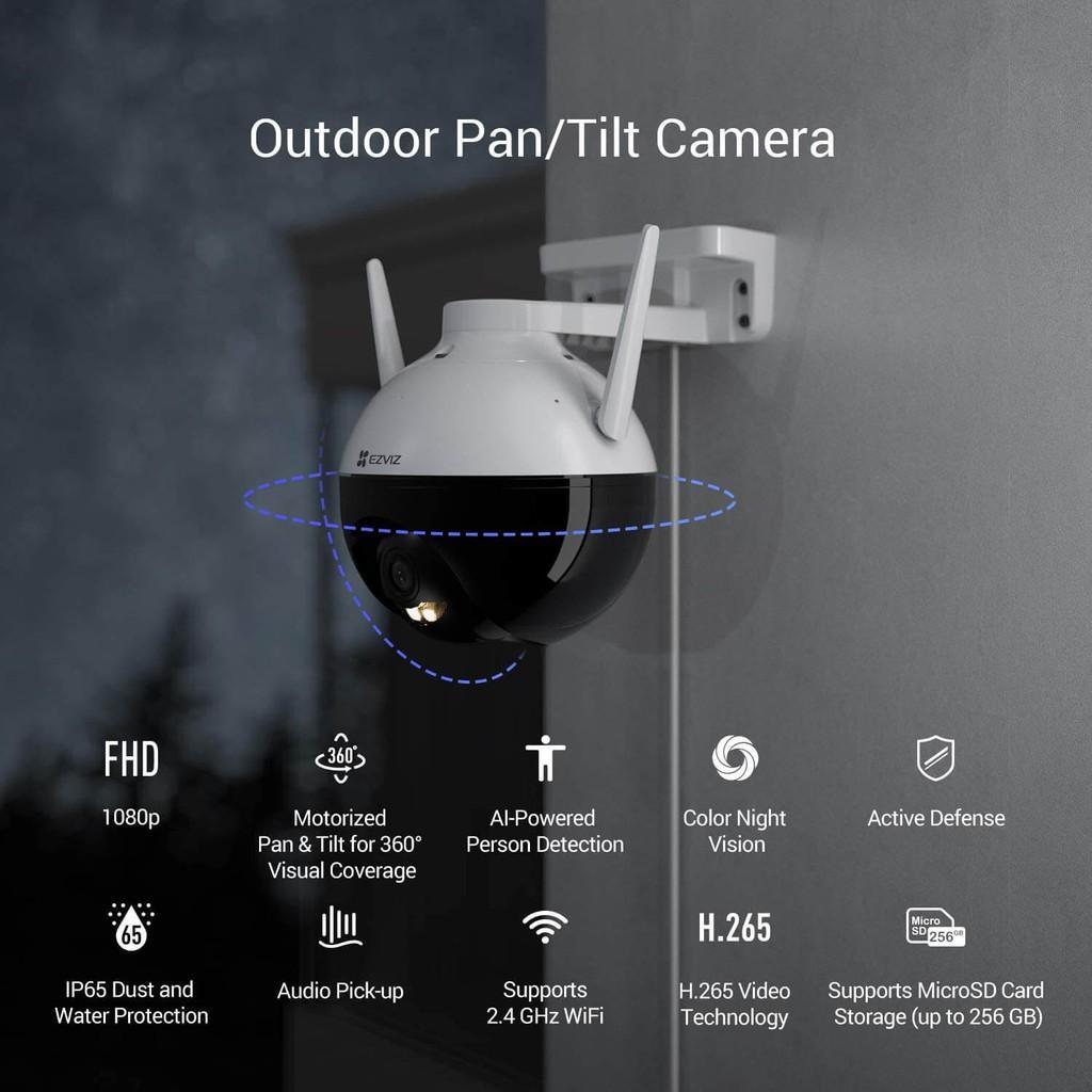 Camera IP Wifi EZVIZ C8C quay quét ngoài trời 2M 1080P hàng chính hãng Nhà An Toàn