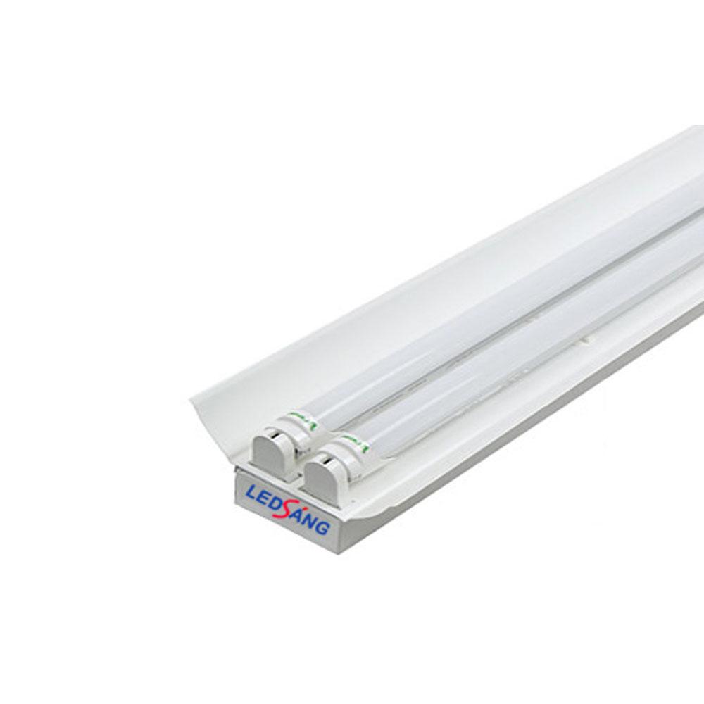 Máng đèn led - Máng đèn led đôi-  Máng đôi có chóa -   Máng đèn led 2 bóng - Máng đèn led tuýp - Máng đèn dùng với 2 bóng led LS-C2-60 LS-C2-120 LEDSANG