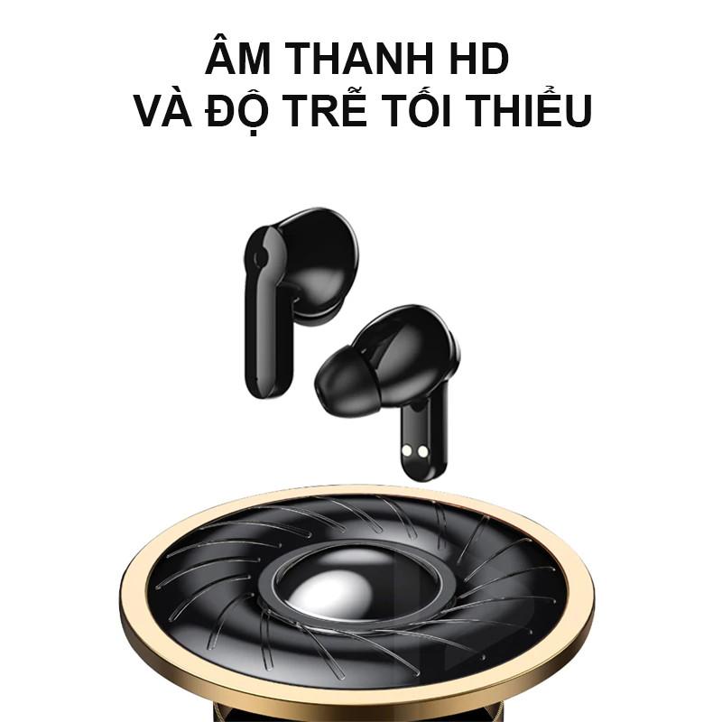Tai nghe bluetooth không dây Nhét Tai, Tai nghe hiển thị kỹ thuật số 5.0 Ngăn sạc 1200mAh để sạc điện thoại di động - Hàng Chính Hãng PKCB PF267
