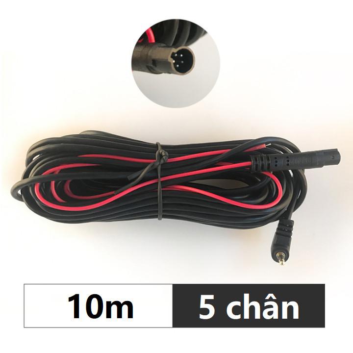 Dây kết nối camera hành trình và camera lùi, jack 2.5mm, 5 chân - Hàng nhập khẩu