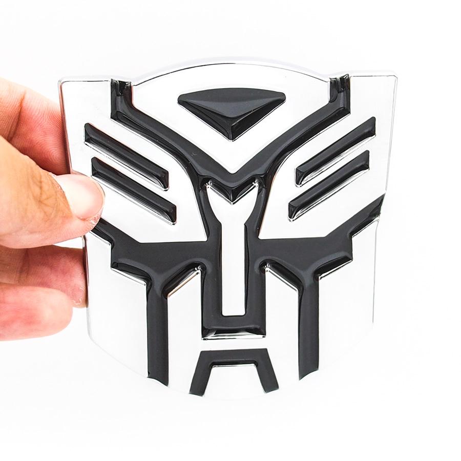 Sticker metal hình dán 3D Transformers: PROTECT the Earth