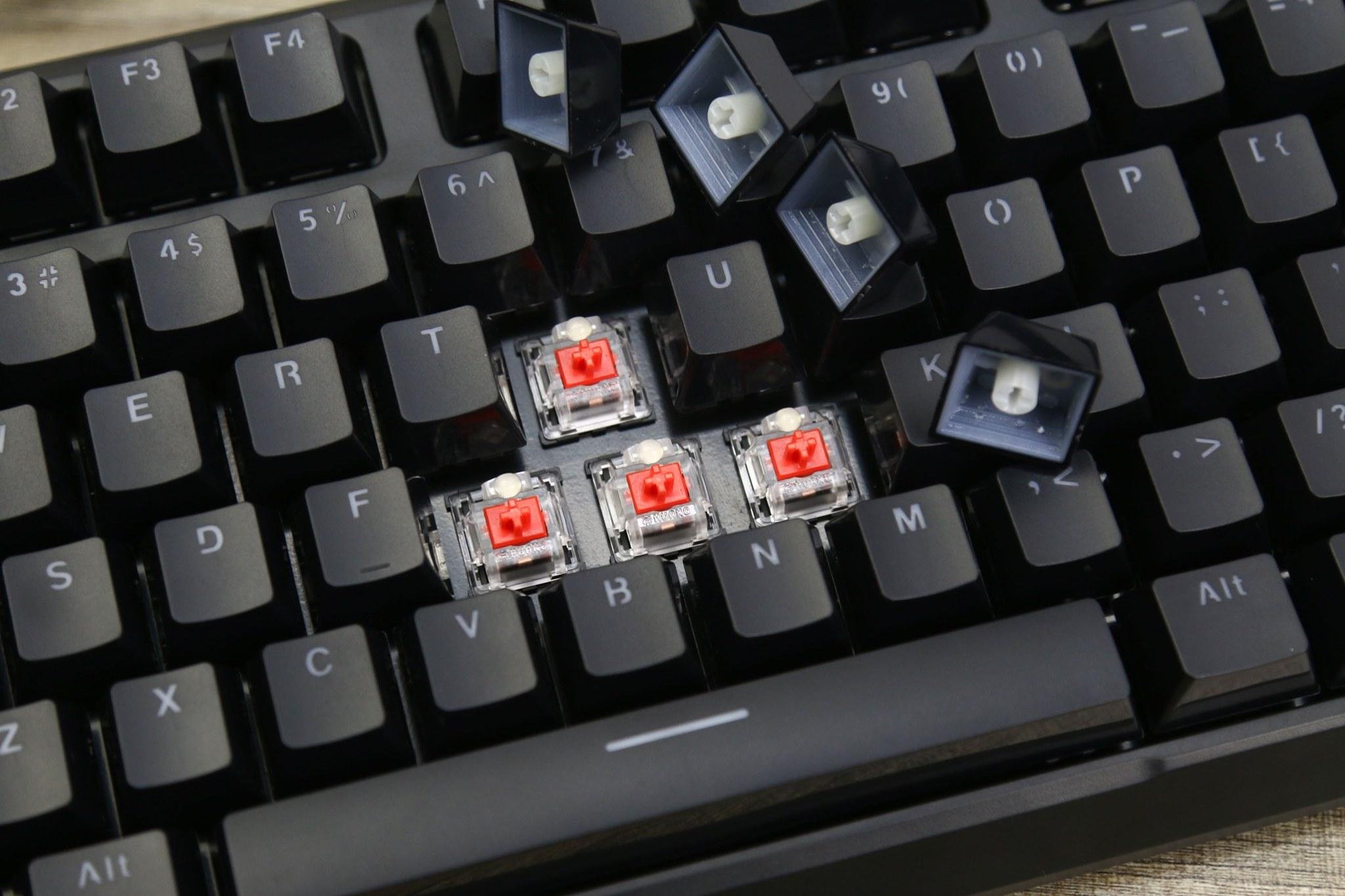 Bàn phím cơ Fuhlen M87s RGB switch Red - Hàng chính hãng
