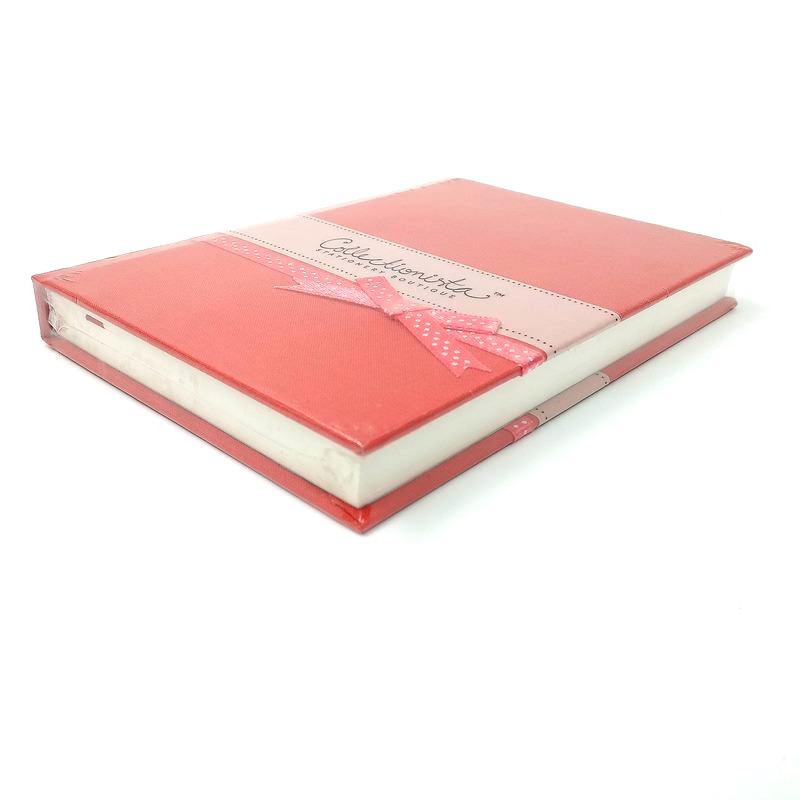 Sổ Collectionista Petit Polka Ribbon - Màu Đỏ