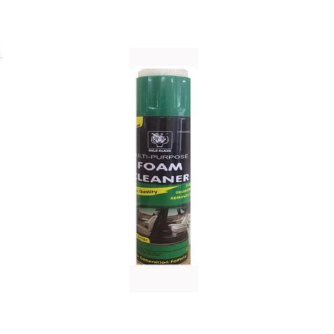Chai xịt tẩy rửa nội thất ô tô FOAM CLEANER - Tặng vòng tay Ruby