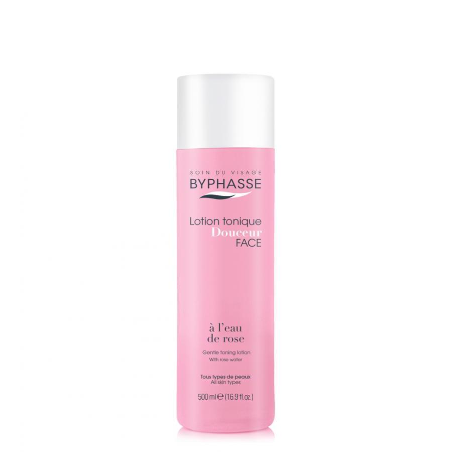 Nước hoa hồng Byphasse Gentle toning Lotion with rose water all Skin types