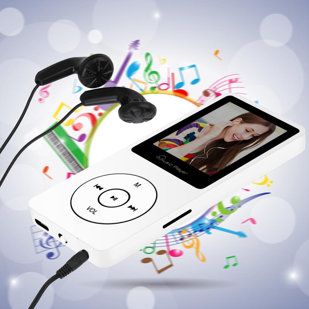 Máy Nghe Nhạc MP3 F8 Bộ nhớ trong sẵn 8G - Trắng