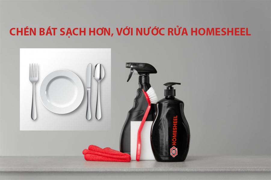 Máy Rửa Chén Công Nghiệp  Homesheel HS1 - Hàng Chính Hãng