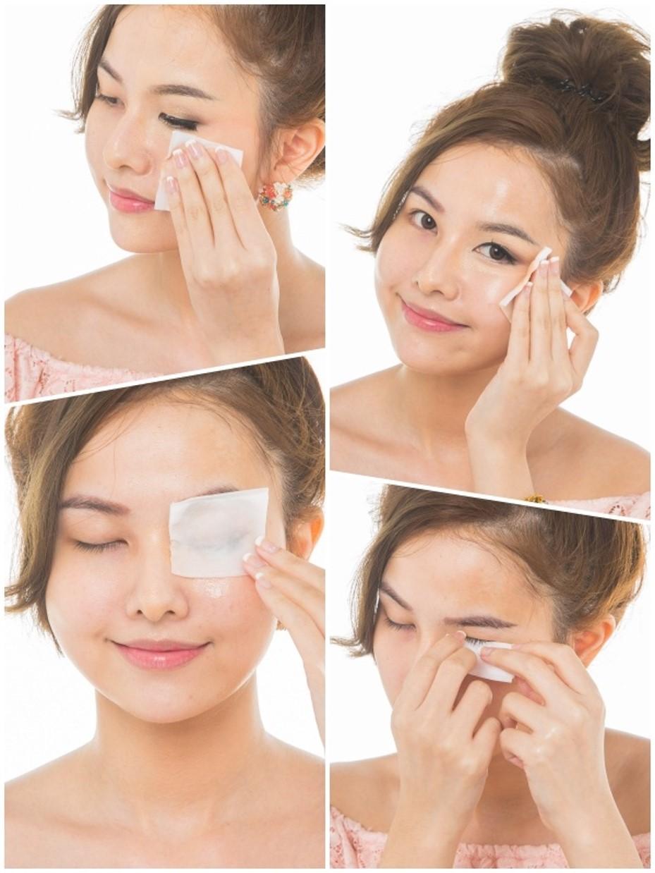 Combo 2 Chai Nước Tẩy Trang Byphasse Micellar Make-up Remover 500ml + Tặng Túi Bông Tẩy Trang Ipek 80 Miếng
