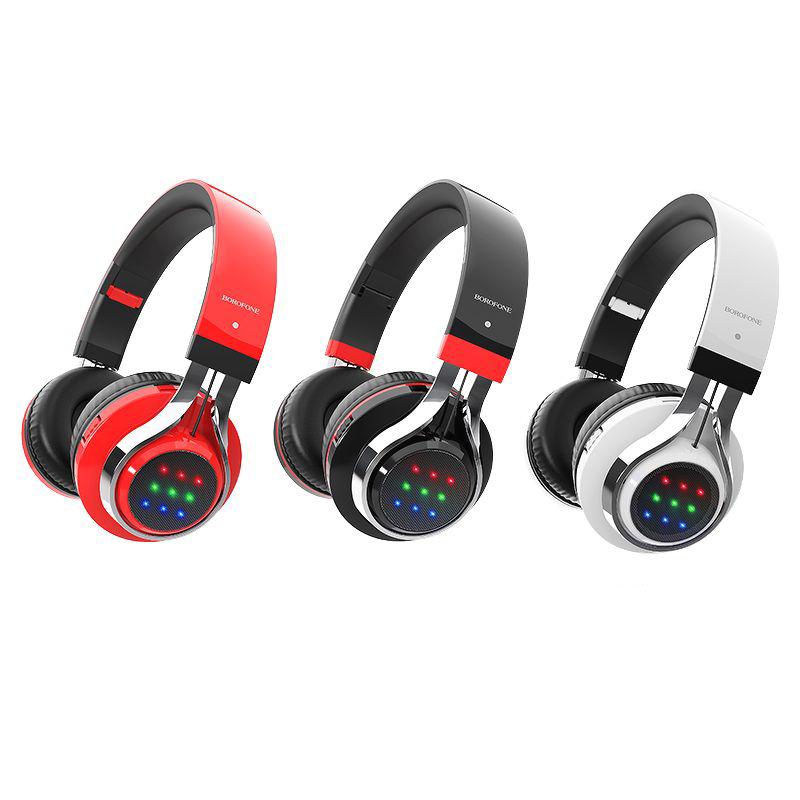 Tai Nghe Trùm Tai Bluetooth BO8 (Có Khe Cắm Thẻ Nhớ) - Hàng chính hãng