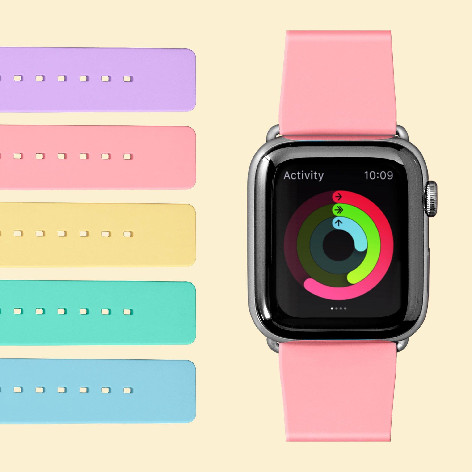 Dây Đeo Dành Cho Apple Watch Series 1/2/3/4/5/6/SE LAUT Huex Pastels - Hàng Chính Hãng
