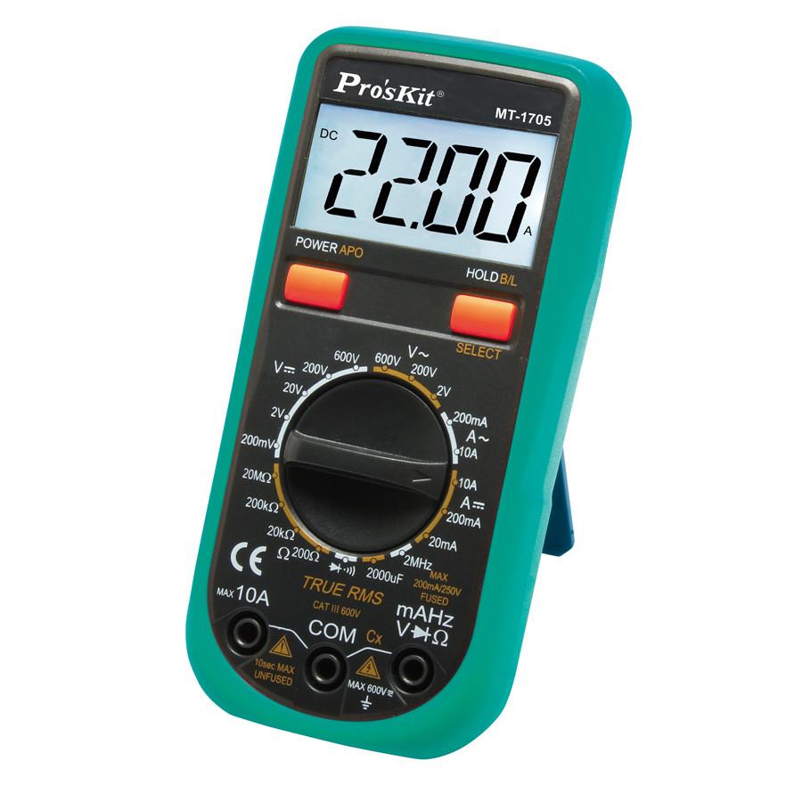 Đồng hồ đo Pro'skit MT-1705 AC True RMS